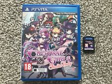 CRIMINAL GIRLS INVITE ONLY SONY PS VITA GAME WITH MANUAL OFFICIAL UK PAL VGC