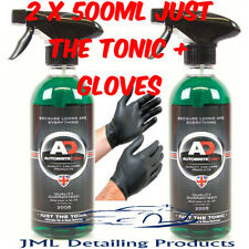 AUTOBRITE DIRECT 2X500ML JUST THE TONIC ULTIMATE TAR & GLUE REMOVER +FREE GLOVES