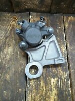 08-16 YAMAHA YZFR6r YZF-R6 6 REAR BACK BRAKE CALIPER MOUNT BRACKET PADS OEM 06