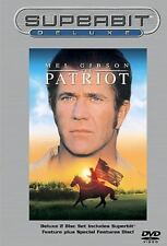 The Patriot (DVD, 2002, 2-Disc Set, Superbit Deluxe)
