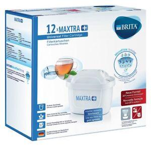 12 x Original BRITA MAXTRA Plus + WASSERFILTER KARTUSCHEN NEU 12er Pack