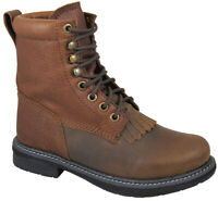 Brown Distress/Brown Lace Up