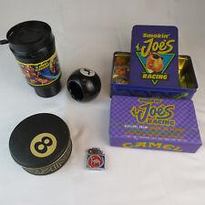 Joe Camel 1990's Advertising Lot - Lighter, Tin, Ash Tray, Matches, Coffee Mug