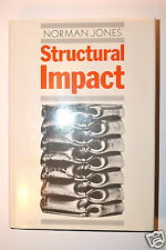 Structural Impact Book 1st ed by Jones 1989 #Rb95 behaviour beam plate eningeer