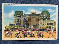 Hotel Dennis, Atlantic City New Jersey Vintage Postcard