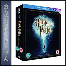 HARRY POTTER COMPLETE FILMS 1 2 3 4 5 6 7 8 **BRAND NEW BLU RAY BOXSET***