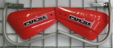 TRX450 ATV Hand Guard Pulse Racing Red Honda Bark Alloy Bracket Wrap Buster 450R
