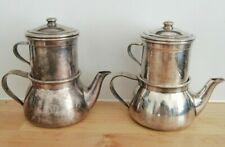 2 cafetières individuelles wiskemann bruxelles model breveté