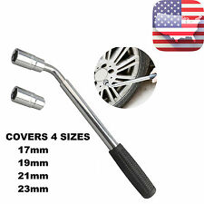 Wrench 4 Way Lug Nut Tool Foldable Adjustable Lug Nut Socket Wheel Tire Change
