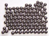 100 Stahlkugeln/Eisenkugeln 9,5 mm für Zwille, Sportschleuder