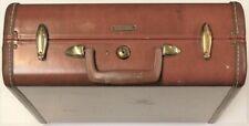 Vintage Samsonite Dhwayder Bros Case Leather SuitCase Denver Colorado #11978