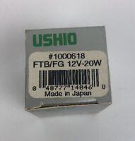 NEW Ushio FTB/FG 1000618 12V 20W Bulb Made In Japan