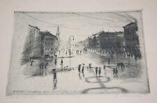 Original 1900-1949 Originaldrucke (1900-1949) aus Europa mit Architektur und Radierung