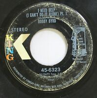 Hear! Funk 45 Bobby Byrd - I Need Help (I Can'T Do It Alone) / Same On King