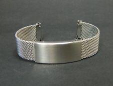Bracelet mesh acier 20mm