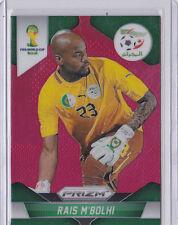 2014 World Cup Panini Red Prizm RAIS M'BOLHI Algeria 081/149 card