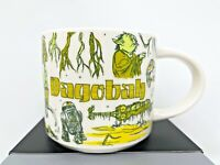 Disney Parks Starbucks Star Wars Been There Series Dagobah Yoda Mug Coffee NWT C