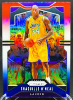 Shaquille O'Neal 2019-2020 Panini Prizm Red White Blue Los Angeles Lakers #11