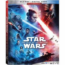 Star Wars: The Rise of Skywalker Blu-Ray + Digital Code /Free Embossed SlipCover