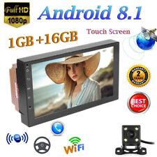 "7"" Zoll Android Autoradio Bluetooth GPS Navigation Doppel 2 DIN MP3 3G WIFI+ Cam"