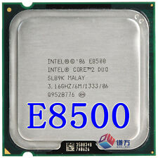 Intel® Core™2 Duo Processor E8500 6M Cache, 3.16 GHz, 1333 MHz FSB