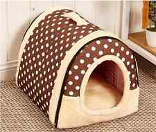 Soft&Warm Pet Dog Cat Bed House Kennel Mat Pad Washable Puppy Cushion S/M/L