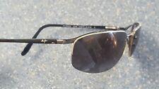 Maui Jim Black Rimless Sunglasses Designer Made in Japan Case As Is