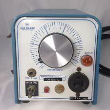 Ace Glass RTD PT-100A Temperature Controller CAT 12102-12 120v 120 volt temp