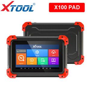 XTOOL X100 PAD Car Key Programming Odometer adjustment OBD2 Scanner Tool ECU ABS