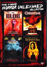 HORROR UNLEASHED 4 FILMS: THE BLOB / CHRISTINE / FRIGHT NIGHT / SEVENTH SIGN DVD