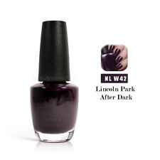 Opi Nail Polish Lacquer W42 Lincoln Park After Dark 0.5floz 15ml