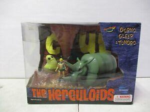 2003 Toynami The Herculoids Dorno Gleep and Tundro