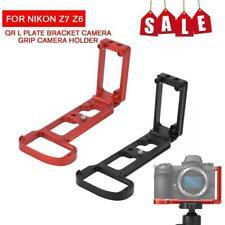 Titular de la mano Agarre Cámara Soporte L placa vertical para Nikon Z6 Z7 Mirrorless TG