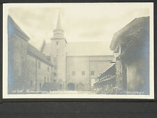 NORWAY 21-Kristiania, Slotsbygningen, Akershus (Real Photo (RPPC)