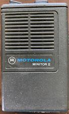 Motorola Minitor Ii Minitor 2 Vhf 154 pager Rare 0306157025
