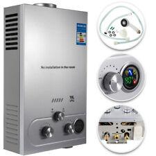18L Propane Gas LPG Tankless Hot Water Heater On-Demand Boiler Shower Kit