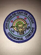 Boy Scouts Of America Order Of The Arrow 1968 Hoh-squa-sa-gah-da Ceremonial Conc