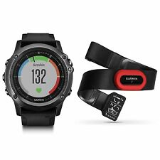 Garmin fenix 3 HR Gray Black Band Performer Bundle Wrist Heart Rate 010-01338-73