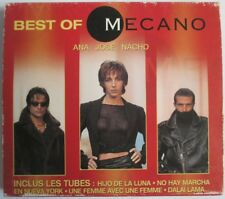 "MECANO - CD ""BEST OF"" (ANA - JOSE - NACHO) - FRANCE ONLY CARDBOARD SLEEVE CASE"
