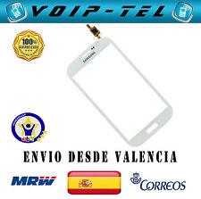 PANTALLA TACTIL SAMSUNG GALAXY GRAND I9080 DUOS I9082 BLANCO CON ADHESIVO
