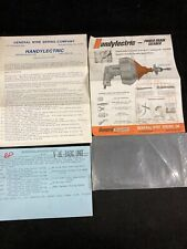 General Handyelectric Power Drain Cleaner Parts List And Info