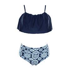 Women Swimwear Bandage Bikini Set Push-up Padded Bra Bathing Suit Swimsuit #XL