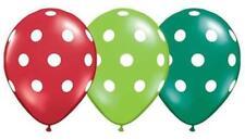 Palloncini natali multicolori per feste e party