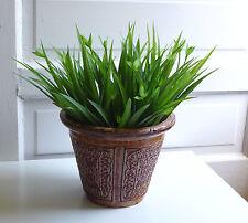 8 Lifelike Orchid Grasses Artificial Plants Plastic Leaf Home Wedding Landscape