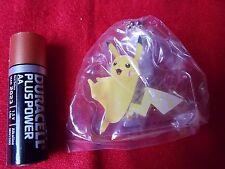 """POKEMON PIKACHU PLASTIC MASCOT / 2"""" 5cm BANPRESTO POKKEN TOURNAMENT / UK SELLER"""
