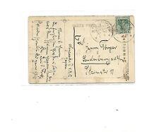 MSP No 20 ( SMS Iltis ) 4/9 __  2 x K1 auf jap. AK aus Nagasaki / 5.9.12 (handsc