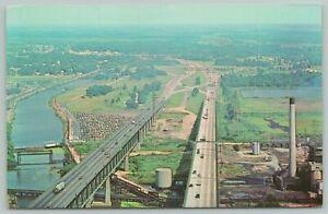 Pennsville NJ to New Castle DE Memorial Bridge~Atlantic City Electric Smokestack