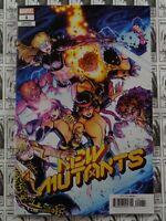 New Mutants (2019) Marvel - #1, 1:25 Nick Bradshaw Variant, Hickman/Reis, VF/NM