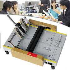 110v A3 Paper Folding Binding Machine Booklet Staplers Folder Marking Usa