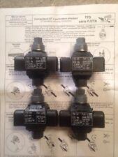 4 Connecteurs dérivation sous tension edf TTD101 FJ2T de 16-25 à 16-35 mm carrés